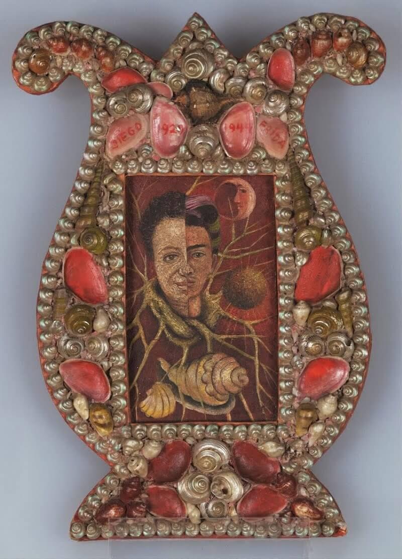 diego and frida by frida kahlo