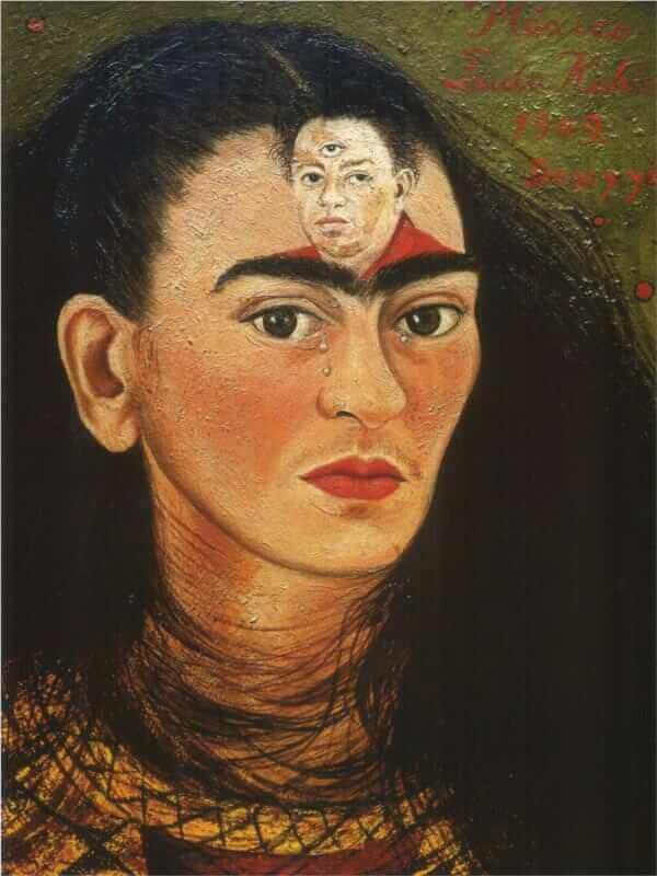 Diego and I, 1949, Frida Kahlo