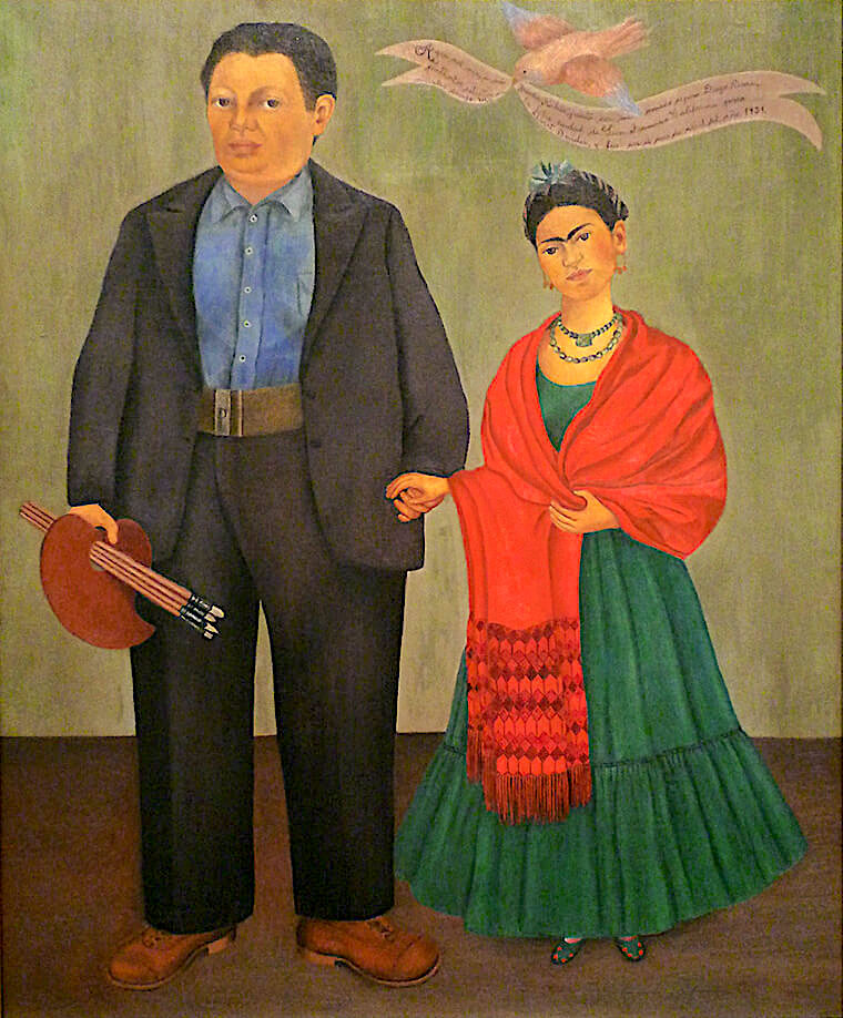 Frieda and Diego Rivera, 1931 by Frida Kahlo