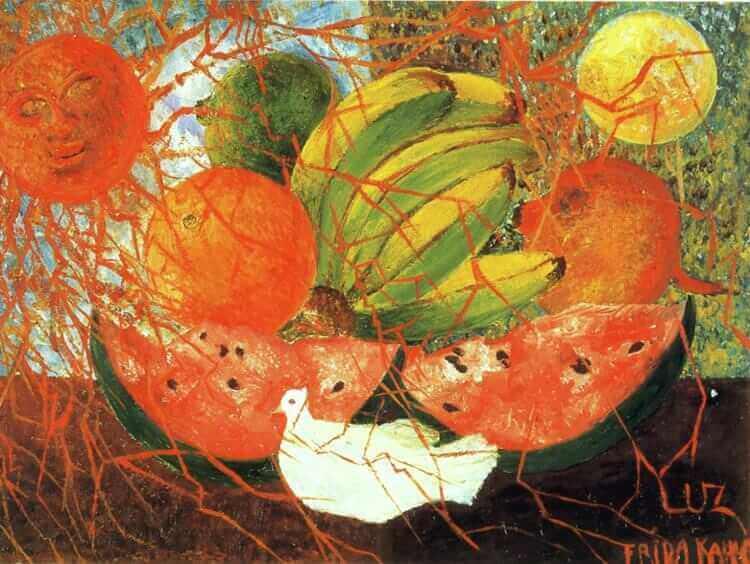 Fruit of life - by Frida Kahlo