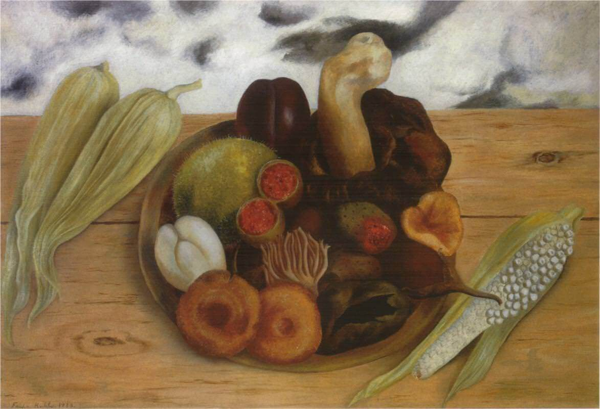 Fruits of the Earth, 1938 - by Frida Kahlo