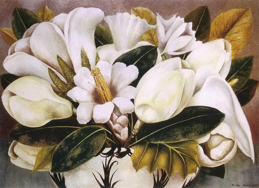 Magnolias 1945 By Frida Kahlo