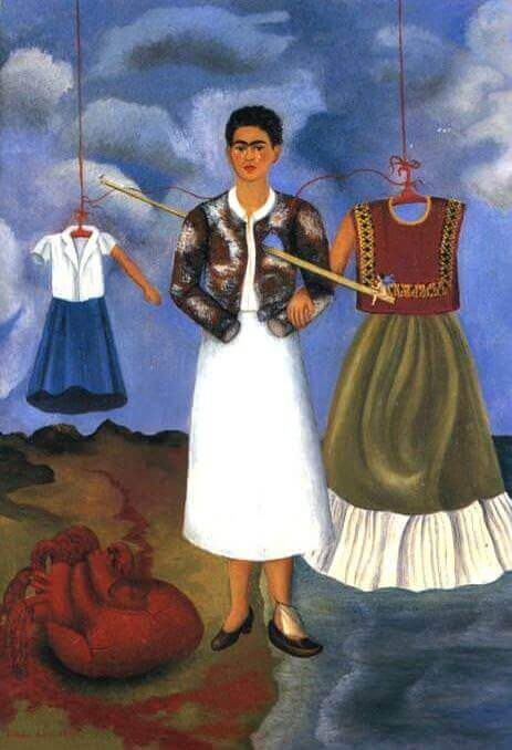 Memory of the Heart, 1937, Frida Kahlo