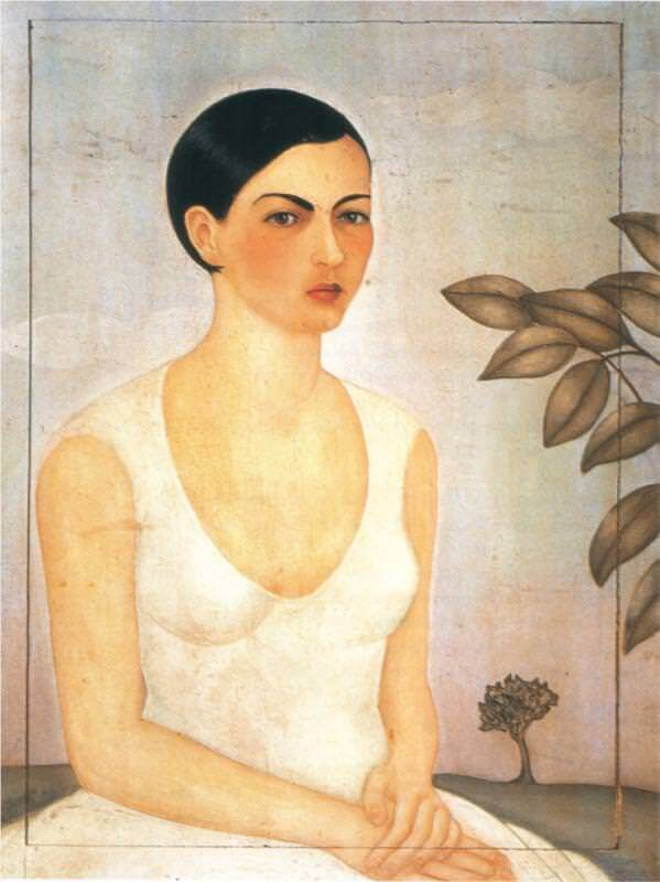 Image result for frida kahlo portrait of cristina