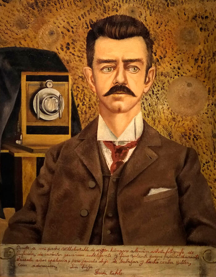 Portrait of My Father, 1951 - by Frida Kahlo