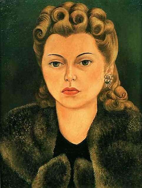 Portrait of Natasha Gelman, 1943 - by Frida Kahlo