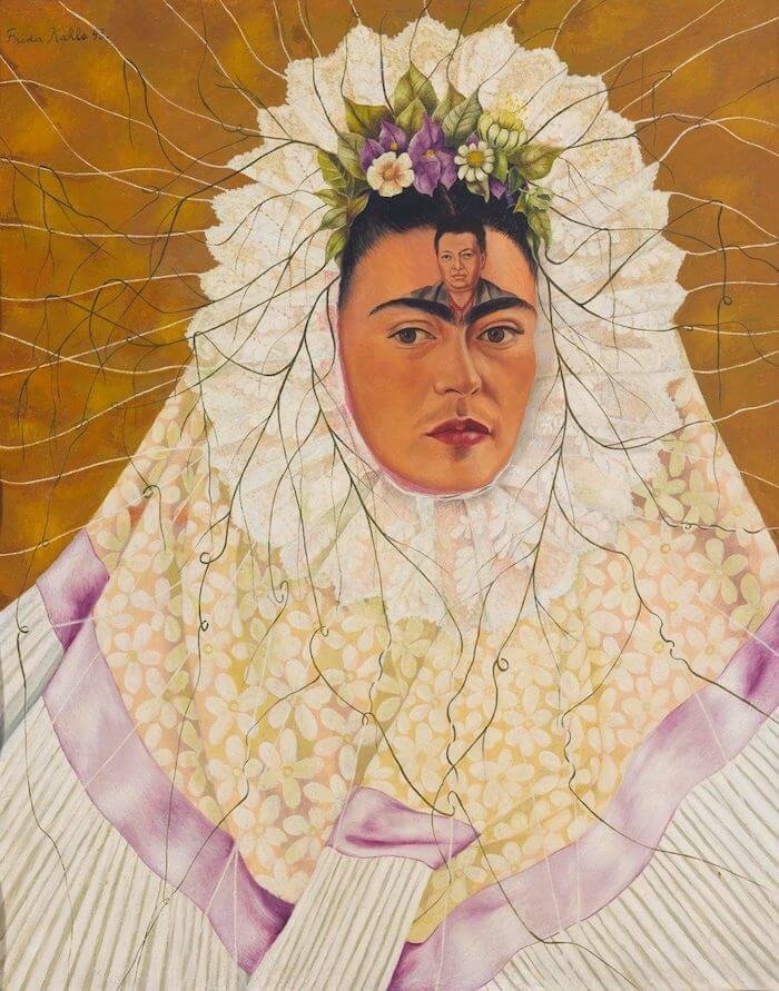 Self Portrait as a Tehuana, 1943 by Frida Kahlo