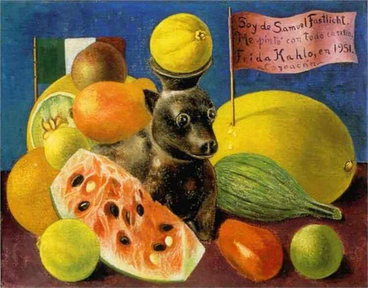 Still life - by Frida Kahlo