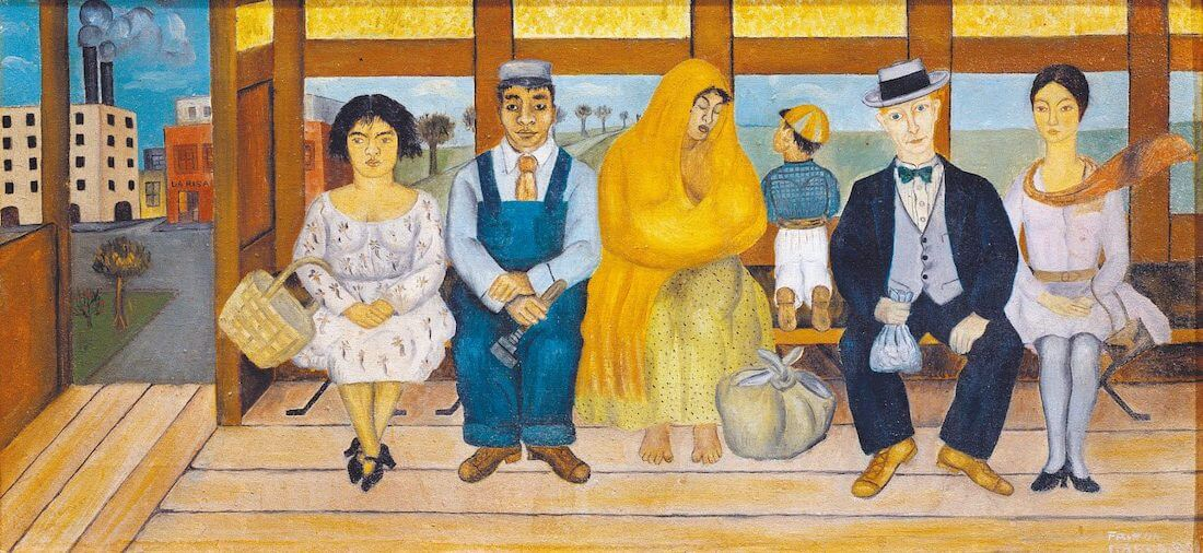 The Bus, 1929 by Frida Kahlo
