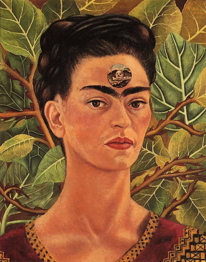 Thinking about death - by Frida Kahlo