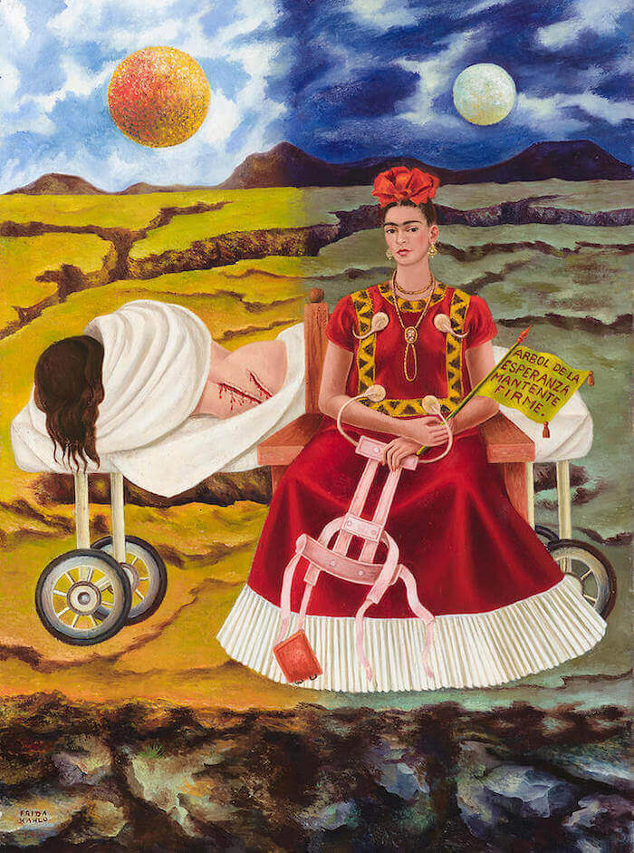 Tree Of Hope Keep Firm 1946 By Frida Kahlo