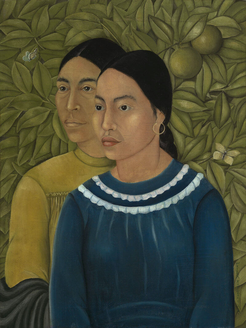 Two Women, 1929 by Frida Kahlo