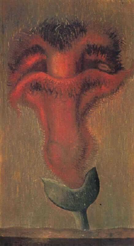 Xochitl Flower of Life, 1938 - by Frida Kahlo