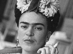 Frida with Cigarette